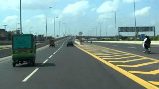 to airport via lahore ( Pakistan ) ringroad.MOV