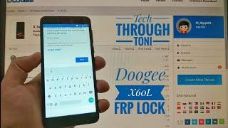 Doogee X60L Skip Account / Bypass Frp Lock