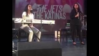 "Leslie Fatai singing an Original ""My Struggle"" and Whitney Houston"