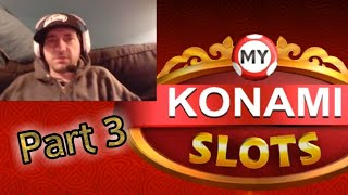 MY KONAMI SLOTS Vegas Casino Slot Machines P3 Free Mobile Game Android Ios Gameplay Youtube YT Video