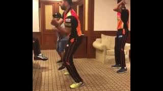 Yuvaraj Singh Enjoys The Party Dance After Wining First Match Of Ipl 2017