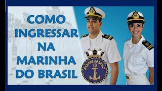 Como Ingressar na Marinha do Brasil? Conheça os concursos para ser um militar de carreira na Marinha