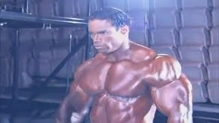 Kevin Levrone Backstage Pumping Up - RARE VIDEO