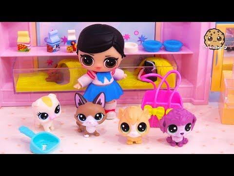 Xxx Mp4 LOL Surprise Girl Gets New Pet At Pet Shop Blind Bag Toy Video 3gp Sex