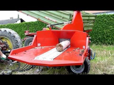 TEKNAMOTOR rębak ciągnikowy z gąsienicą wood chipper