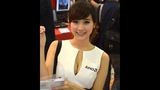 Hot Girls from Taiwan's Computex 2013 (720p)