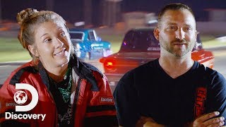 Race Replay: Tricia vs. Detroit's Brian | Street Outlaws: Memphis