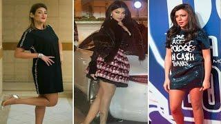 👗اشهر فنانات العرب بفساتين قصيرة جدآ فوق الركبة