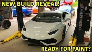 Rebuilding A Wrecked Lamborghini Huracan Part 14