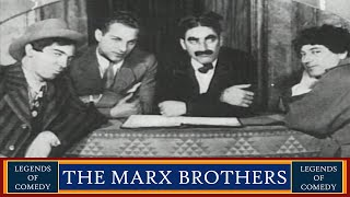 Legends of Comedy: The Marx Brothers