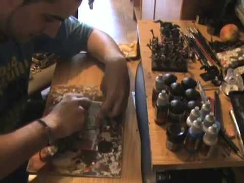 Como hacer peanas de movimiento para imanes o para miniaturas normales
