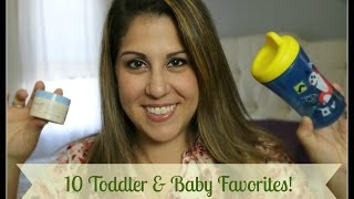 10 FAVORITE TODDLER AND BABY PRODUCTS!! || COLLAB