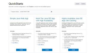 Getting Started with Oracle Java Cloud Service