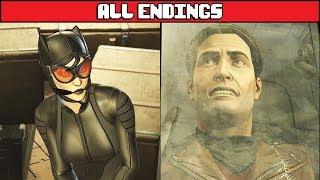 BATMAN TELLTALE SEASON 2 Episode 3 All Endings