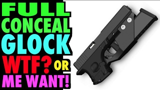 Full Conceal Gripless Glocks: Great Idea Or WTF?