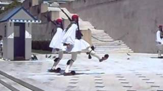 Changing of the Guards -- Greek Parliament/Tomb of the Unknown Soldier
