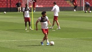 Mo Salah Training for Champions League Final   Best Moments