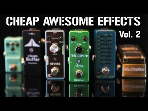More CHEAP but AWESOME mini effects pedals! Video Clip