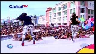 2 RACUN Live At 100% Ampuh (03-02-2013) Courtesy GLOBAL TV