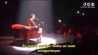 Justin Bieber - Insecurities in live