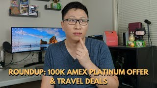 Roundup: Amex Plat 100k Bonus, New Priority Pass Restaurant, $10 Amazon Credit