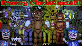 GOLDEN FREDDY PLAYS: Happy Wheels || MERRY CHRISTMAS AND HAPPY HOLIDAYS!!!