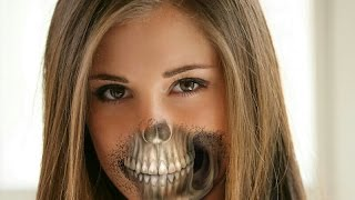 How to Skull Face PicsArt Tutorial