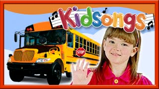 Kidsongs |The Wheels On The Bus | The Bus Song | Top Nursery Rhymes