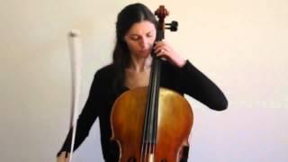 Online Cello Lessons - 8 - Developing Cello Scale Technique