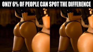 94% OF PEOPLE CAN'T SPOT THE DIFFERENCE! CAN YOU?