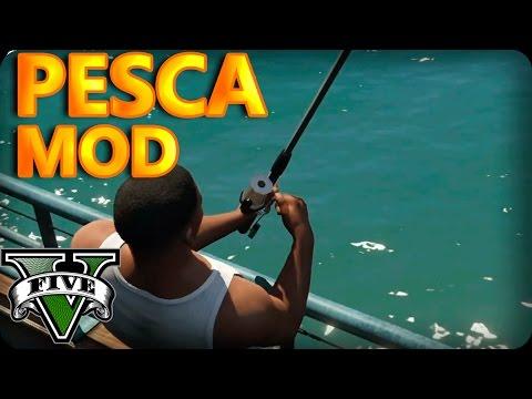 Nos Vamos De PESCA MOD GTA 5 PC Fishing Mod
