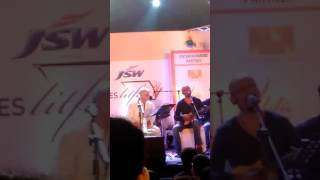 Main Wohi Hoon Live Gulzar  Shantanu Moitra Shreya Ghoshal Times Lit Fest 2016