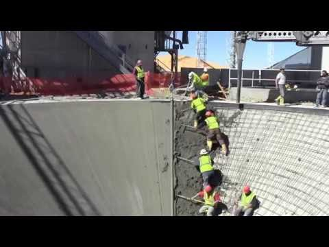 Wow Conical Concrete Pour