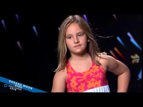 Desfile infantil de Oh!Soleil en la Semana de la Moda Baño