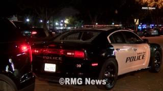 Baldwin Park police officer shot at but not injured, California.