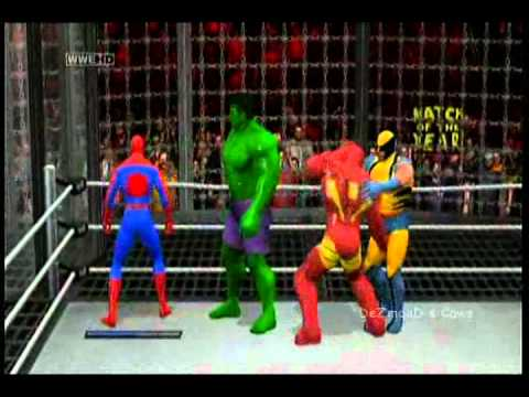 DeZmonD s Caws SVR11 Marvel All Star Elimination Chamber