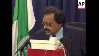 PAKISTAN: UNITED NATIONAL MOVEMENT LEADER ALTAF HUSSAIN IS IN EXILE