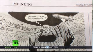 Anti-Semitic? Cartoonist depicts Netanyahu as Netta, fired by German newspaper