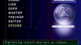 RELEMBRANDO UM CLASSICO DO PS1 WINNING ELEVEN 2002 1ª PARTIDA DA COPA COM DIREITO A CHOCOLATE