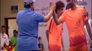 اسيست وهدف ولا اروع لابو تريكة وابنه احمد فى فريق الفتنس الكويتي