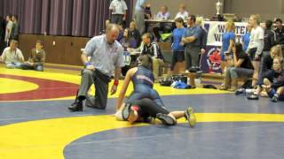 2012 Harry Geris Memorial Duals: 48 kg Breann Theissen (Calgary) vs. Marina Sanchez (King)