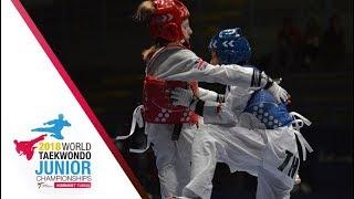 [Juniors Women –44kg FINAL] 2018 WORLD TAEKWONDO JUNIOR CHAMPIONSHIPS
