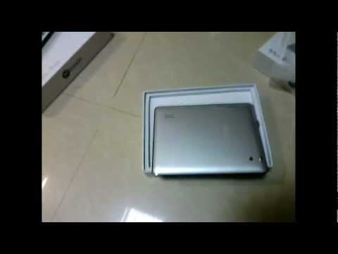 Unboxing Xtouch X807 8