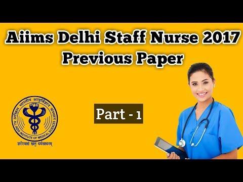 Xxx Mp4 Delhi Aiims Staff Nurse 2017 Previous Paper 3gp Sex