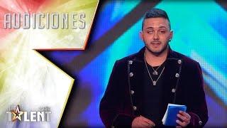 Mentalismo puro. Eric consigue leer la mente al jurado | Audiciones 7 | Got Talent España 2017