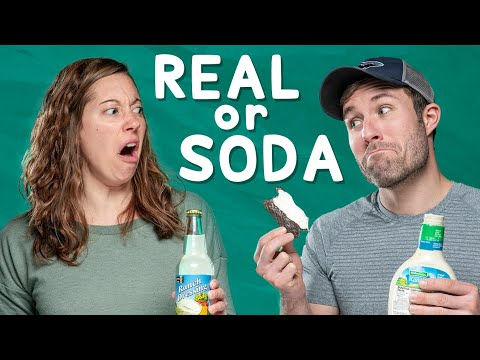 Would You Eat Apple Pie with Bacon Real vs Soda Challenge 2