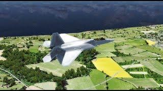 [P3Dv4.5] - Flying Over England - ORBX Global Earth - RTX 2080 ti