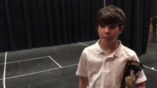 Young Man Comments on What Drama Kids Means to Him