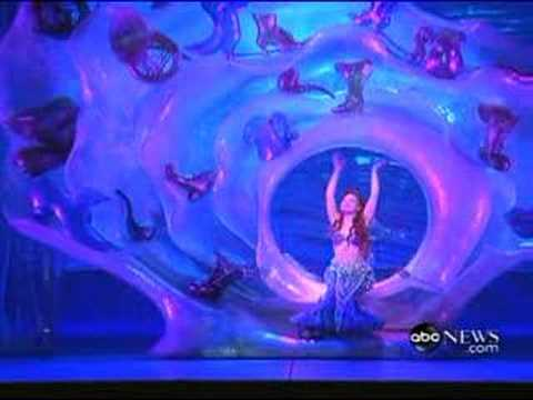The Little Mermaid On Broadway Part Of Your World