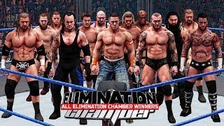 All Elimination Chamber Winners 2002 - 2017! ( WWE 2K18 )